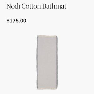 nodi cotton floormat from DWR